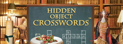 Das Wimmelbild-Kreuzworträtsel: Hidden Object Crosswords
