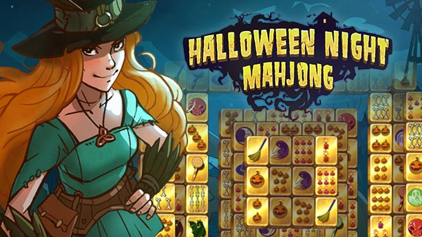 halloween night mahjong kostenlos spielen bei. Black Bedroom Furniture Sets. Home Design Ideas