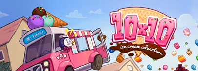 10x10 Ice Cream Adventure