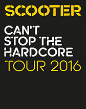 Tickets und Karten für Scooter: Can't Stop The Hardcore Tour 2016