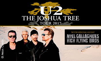 Tickets und Karten für  $artistName  U2 - The Joshua Tree Tour 2017 - Tickets
