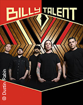 Tickets und Karten für Billy Talent: Afraid Of Heights Tour 2016