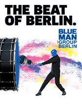 Tickets und Karten für Blue Man Group in Berlin - Die Show-Sensation