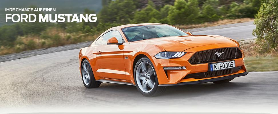 Formel 1 Gewinnspiel Ford Mustang Gewinner Heure
