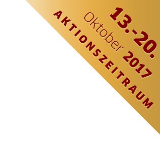 1 MILLION €-CHANCE Aktionszeitraum: 13.-20. Oktober 2017
